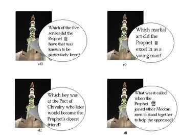 Islam: The Prophet Muhammad's Childhood - Task Cards