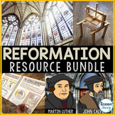 The Protestant Reformation Activities Resource Bundle