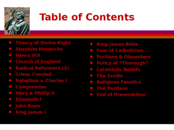 The Protestant Reformation - Events Leading up to the Reformation