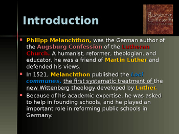 The Protestant Reformation - Key Figures - Philipp Melanchthon