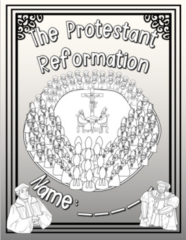 The Protestant Reformation Lapbook