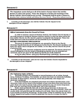 Day 049_Protestant Reformation & Catholic Counter Reformation - Lesson Handout