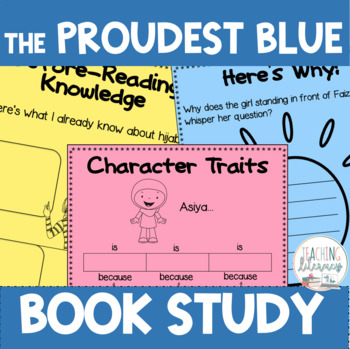 The Proudest Blue: A Story of Hijab and Family Differentiated Book Study