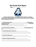 The Psychic Book Report (Pre-reading activity)