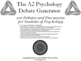 The Psychology Debate Generator (AQA Psychology A2)