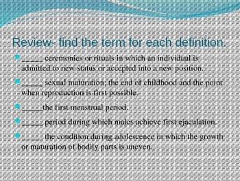 The Psychology of Adolescence
