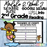 The Puddle Puzzle | Module 2 Week 3 | Into Reading 2nd Grade | Google Seesaw
