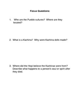 The Pueblo Culture and their Kachinas