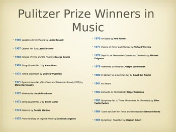 The Pulitzer Prize