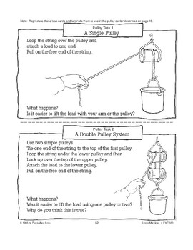 The Pulley Is a Simple Machine