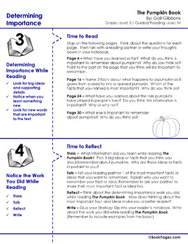 The Pumpkin Book Lesson Plans & Activities Package, Second Grade (CCSS)