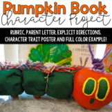 The Pumpkin Book Character Project for Grades 2-5!