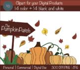 The Pumpkin Patch CLIPART