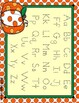 The Pumpkin Patch Dotted Letter Alphabet Practice Mat Dry Erase