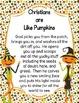The Pumpkin Prayer Activity Pack