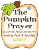 The Pumpkin Prayer Activity Pack and Booklets BUNDLE