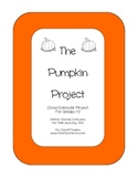 The Pumpkin Project - A Cross-Curricular Activity