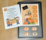 Pumpkins Free:  Cookie Sheet Song