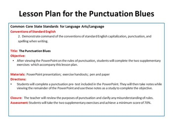 The Punctuation Blues