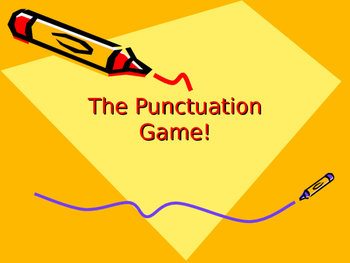The Punctuation Game