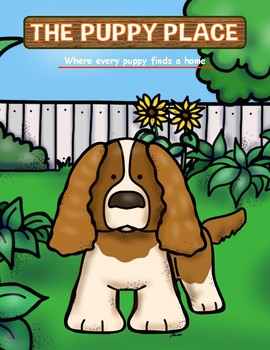 """The Puppy Place Activity Packet {for any """"The Puppy Place"""" book}"""