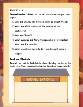 The Puppy Place HONEY by Ellen Miles ELA Novel Literature Reading Study Guide