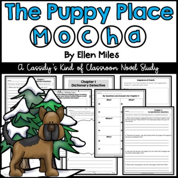 The Puppy Place: Mocha Novel Study