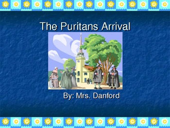 The Puritans Arrival PowerPoint