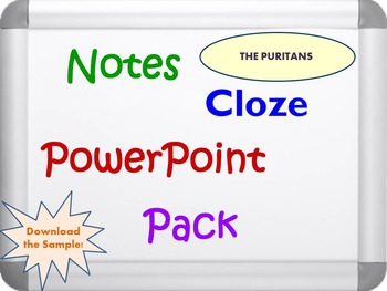 The Puritans Pack (PPT, DOC, PDF)
