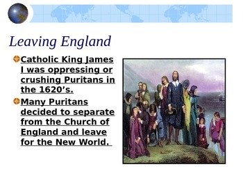 The Puritans and The Crucible Background PowerPoint