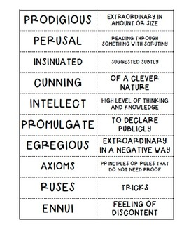The Purloined Letter By Edgar Allan Poe Questions, Vocab, Activities