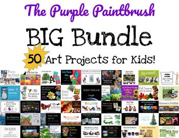 The BIG Bundle: 50 Art Projects for Kids!