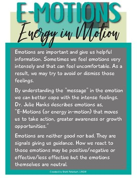 The Purpose of Emotions