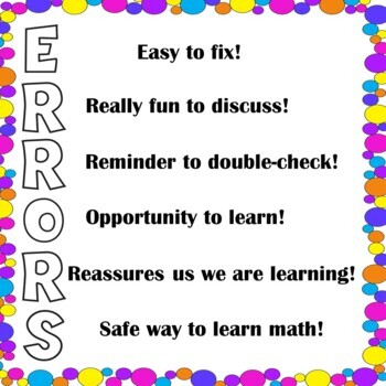 The Purpose of Errors in Math