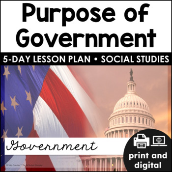 The Purpose of Government ~ Quick Pack
