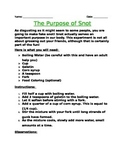 The Purpose of Snot!