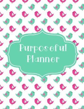 The Purposeful Planner