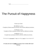 The Pursuit of Happyness Movie Activities