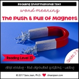 The Push & Pull of Magnets • Reading Comprehension Passage