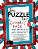 The Puzzle Den Sampler Pack Freebie