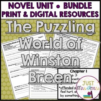 The Puzzling World of Winston Breen Novel Unit