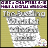 The Puzzling World of Winston Breen Quiz 2 (Ch. 6-10)