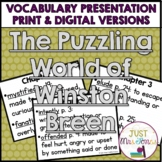 The Puzzling World of Winston Breen Vocabulary Presentation