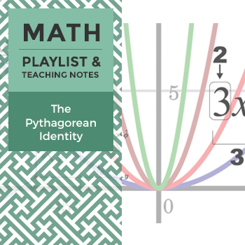 The Pythagorean Identity - Playlist and Teaching Notes