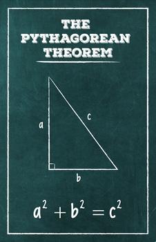 The Pythagorean Theorem - Math Poster
