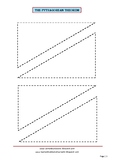 The Pythagorean Theorem Exploration Cutouts (part 2)