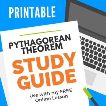 The Pythagorean Theorem Study Guide