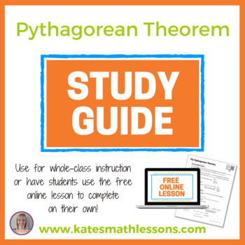 The Pythagorean Theorem Study Guide