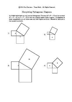The Pythagorean Theorem Unit