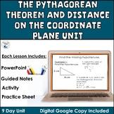 The Pythagorean Theorem Unit Common Core Standards 8.G.6, 8.G.7, 8.G.8